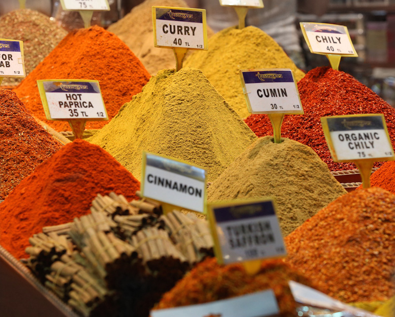 pretty spices at spice market!