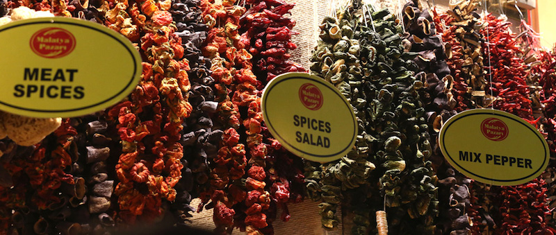 hanging spices!