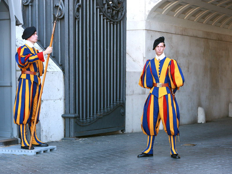 The guards of Vatican City!