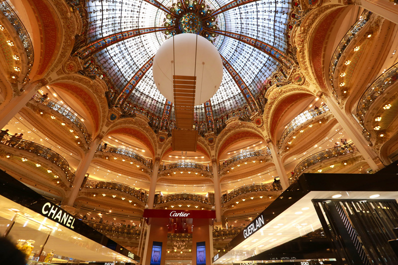 The shopping dream - Galeries Lafayette