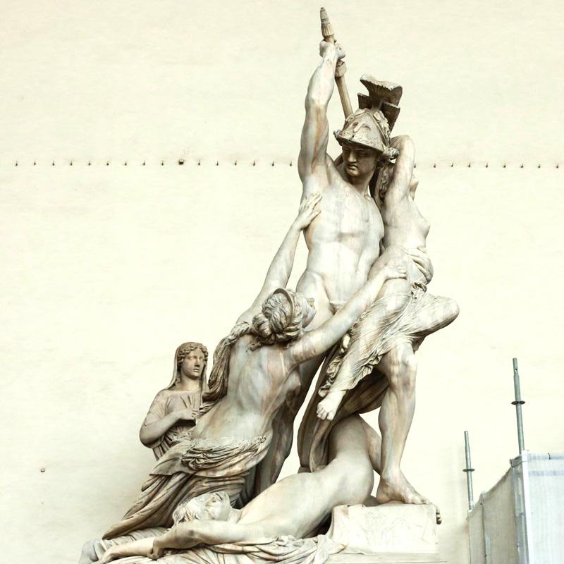 Piazza della Signoria statues-2