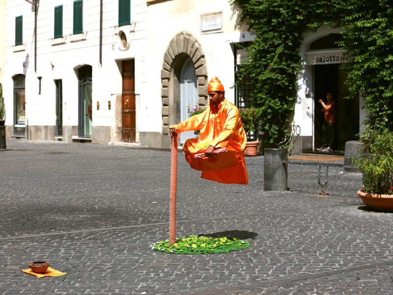 Artists on the streets of Rome