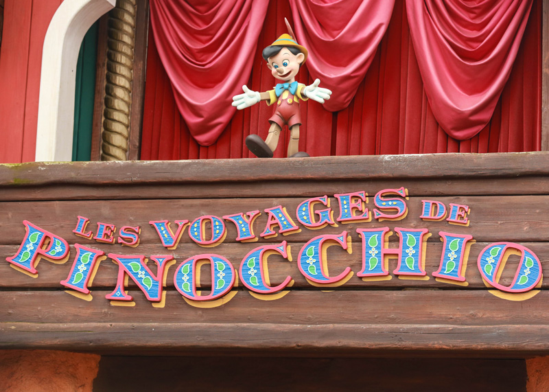 Let's go meet Pinocchio!