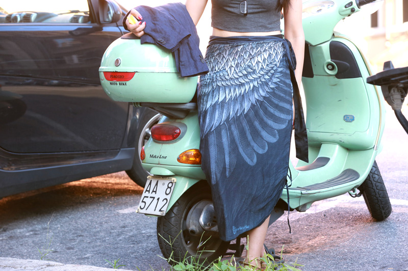feather-wrap-skirt