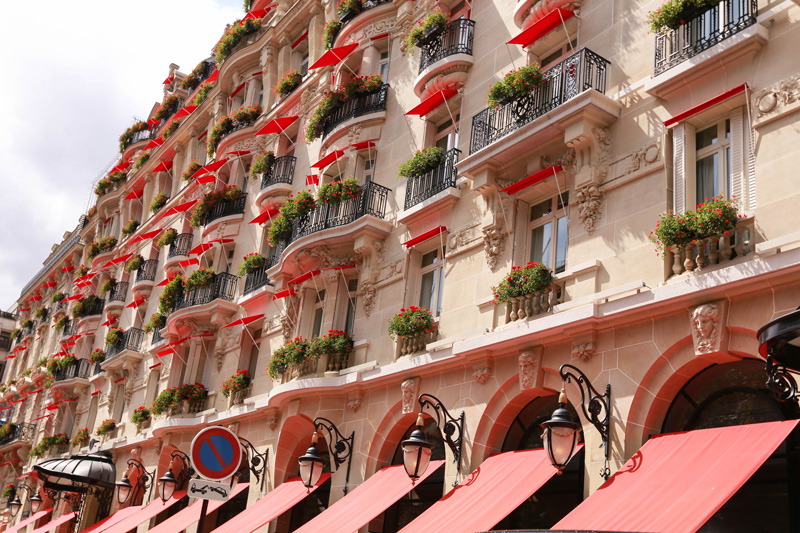 the beautiful french balconies