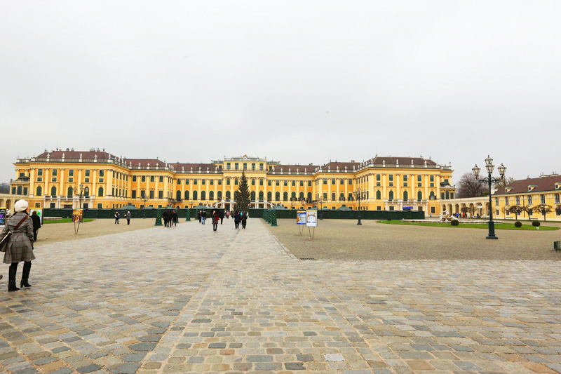 The very grand schonbrunn palace