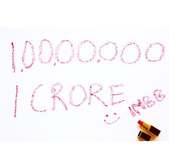 1 crore monthly page views of IMBB