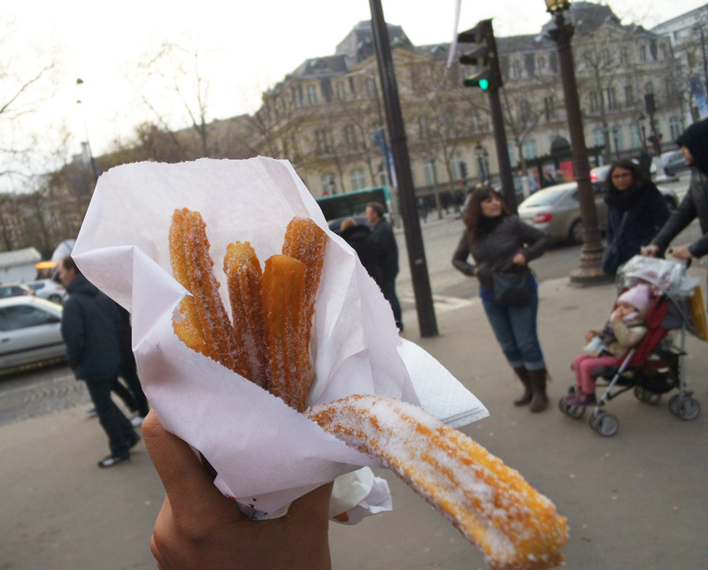 Churros from Christmas Market