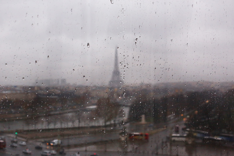 The rainy Paris