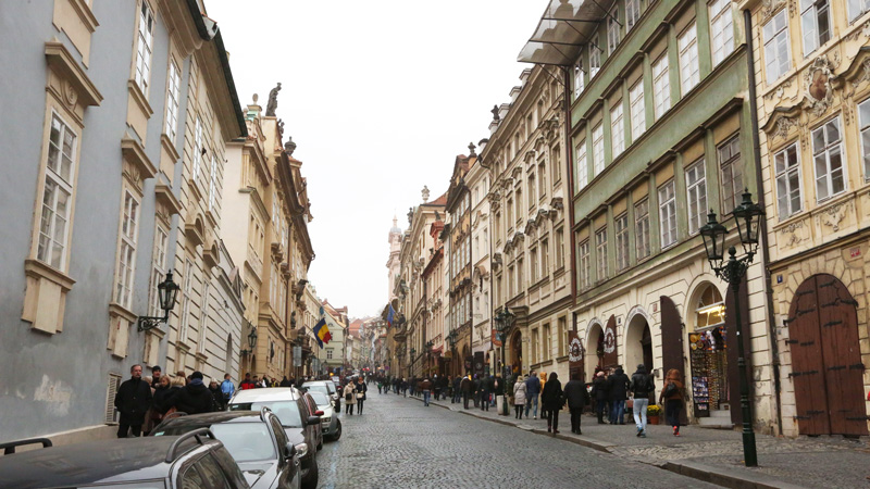 The streets of prague