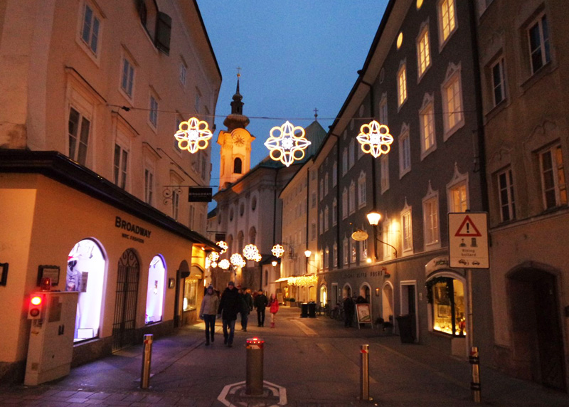 The cutest streets of Salzburg