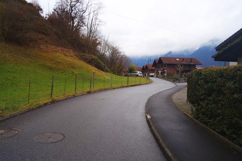 the stunning streets of interlaken