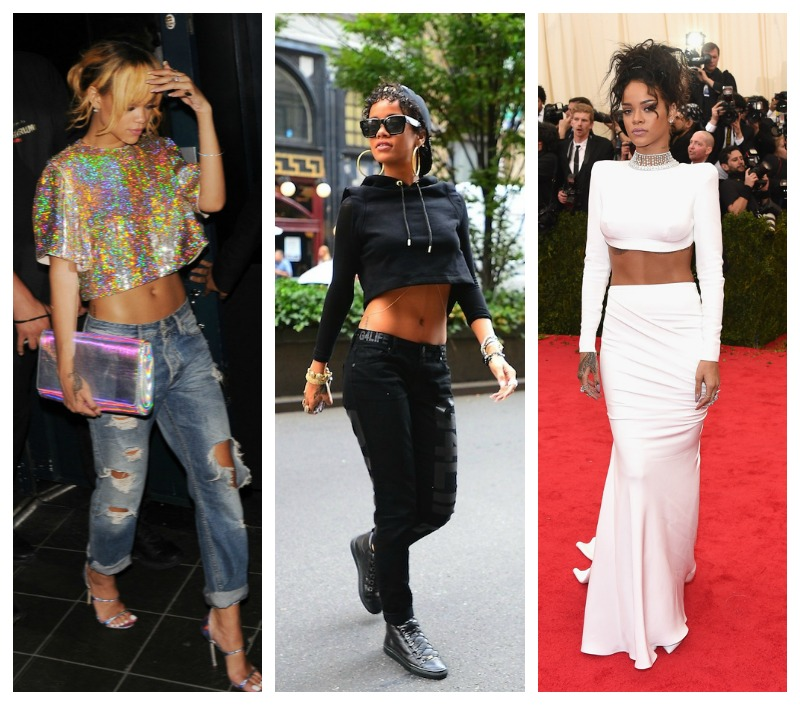 crop top rihanna