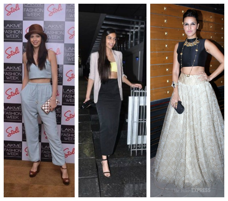crop tops bollywood