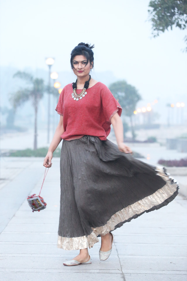 indian skirt outfit