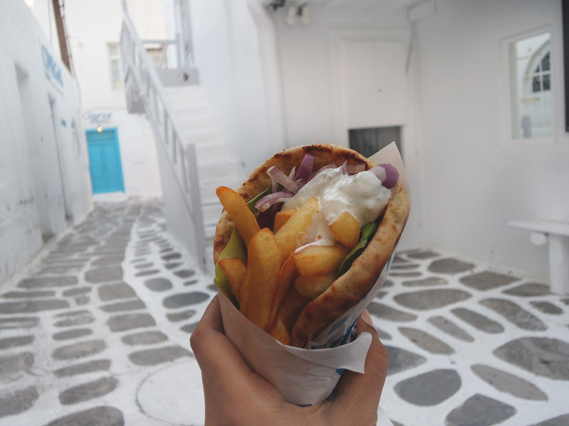 Greek Gyro. Must try!