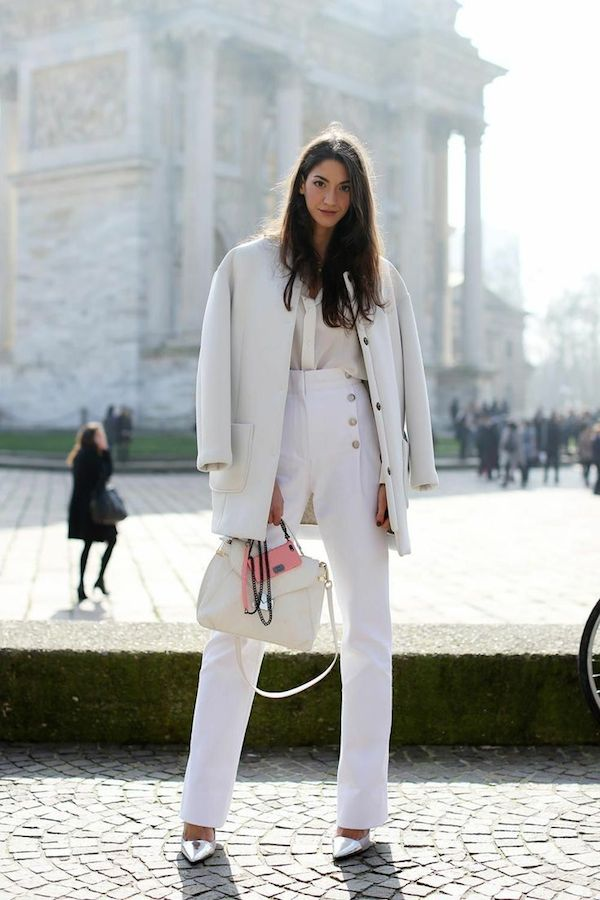 how to style white on white