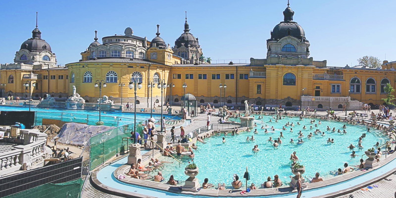 the awesomest szechenyi thermal bath. An experience worth experiencing.