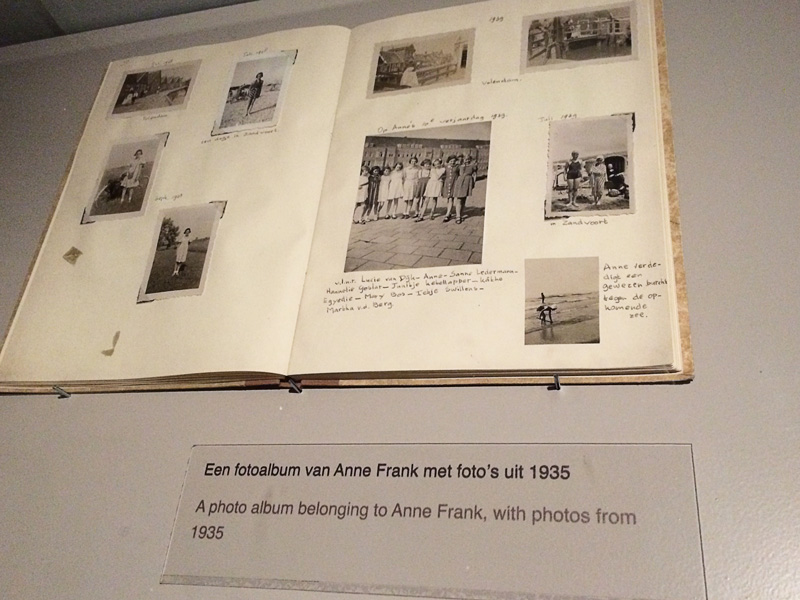 anne frabk's album