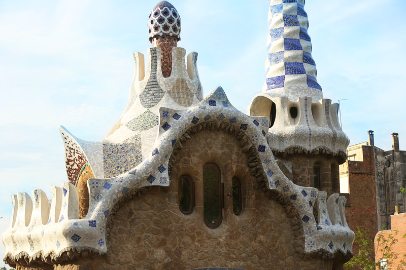 Park Güell is skillfully designed and composed to bring the peace and calm that one would expect from a park.
