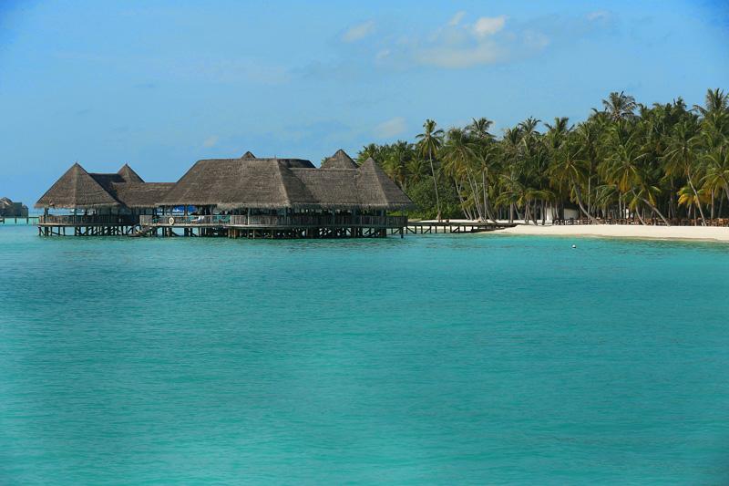 the huts island!