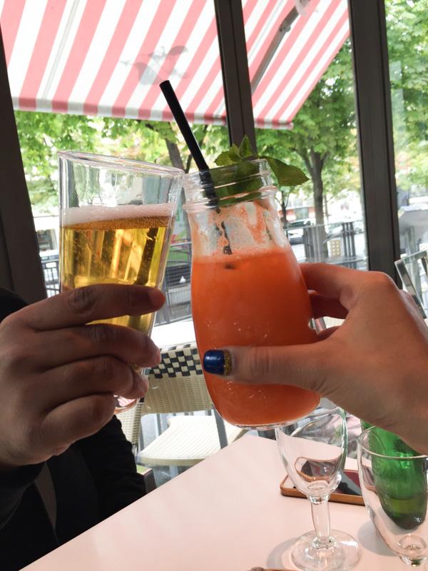 last drinks!