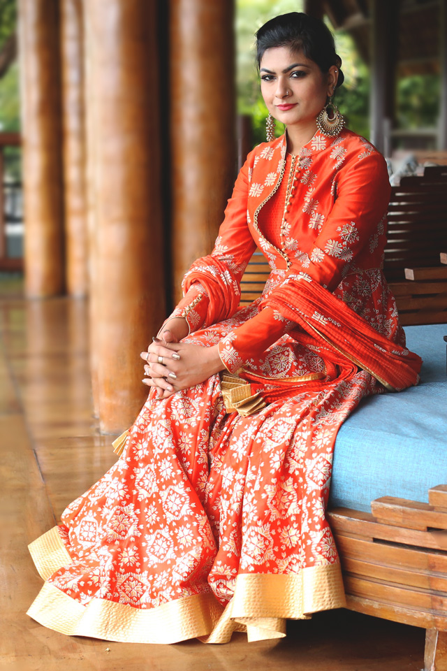 diwali designer outfit