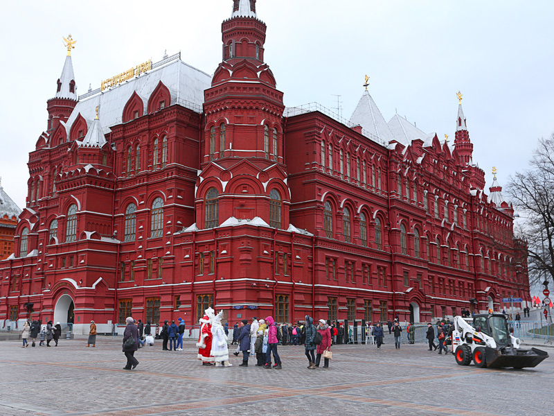 the red square, mocow