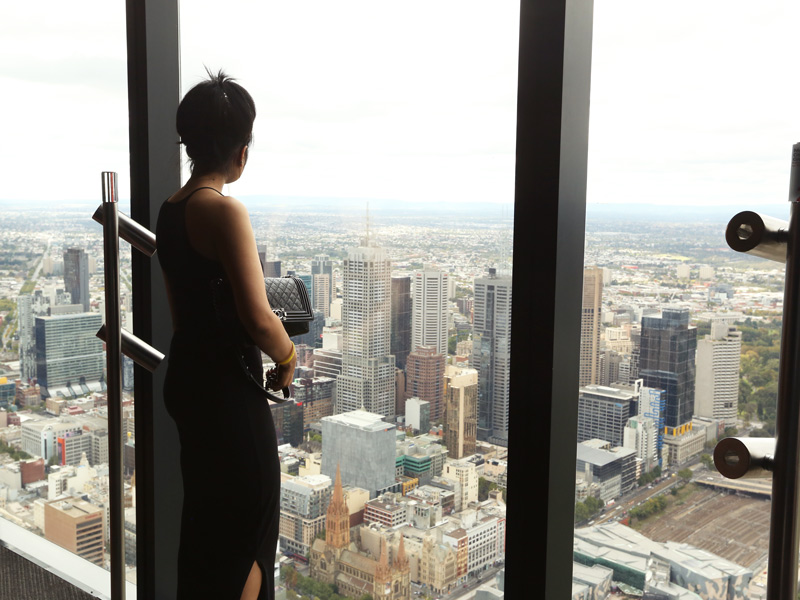 cannot get enough o fthe view!
