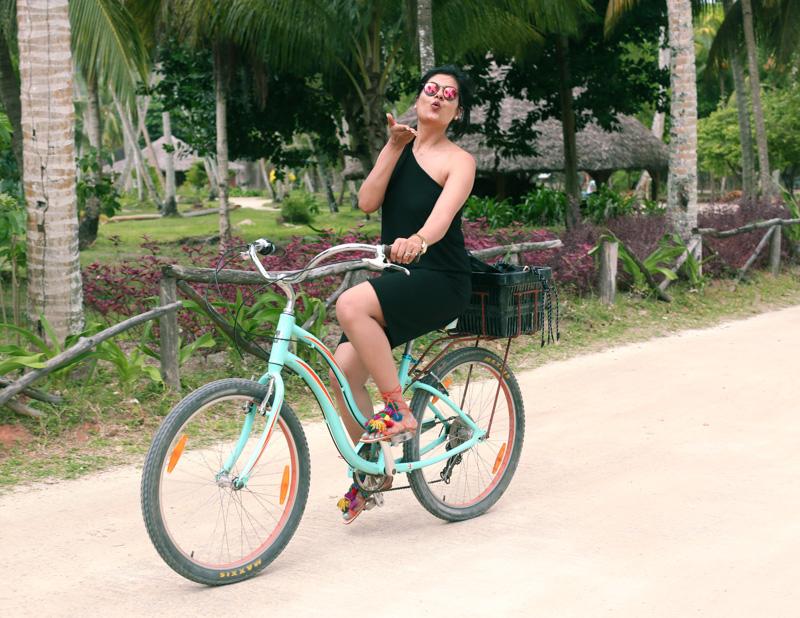 island cycling!