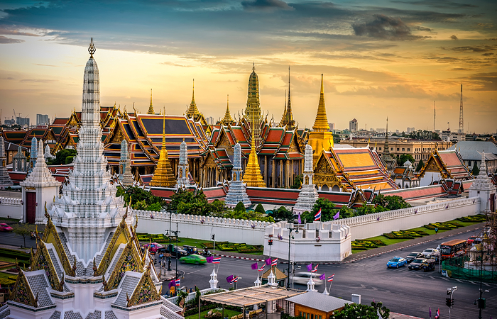 Grand palace and Wat phra keaw