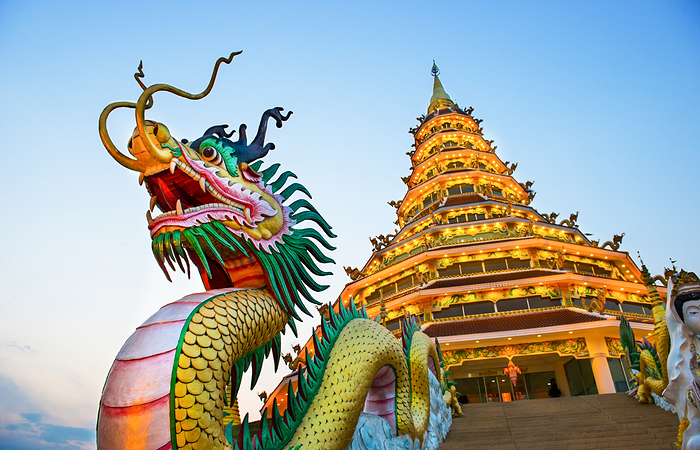 wat hyua pla kang , Chiang Rai