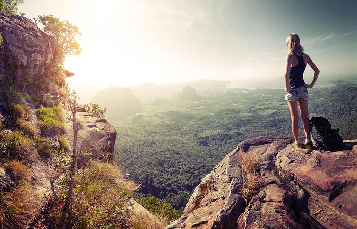 female solo traveller